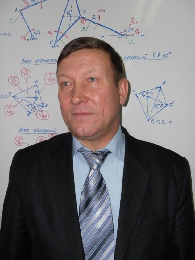 Заведующий кафедрой, д.т.н., проф. Андреев Василий Леонидович